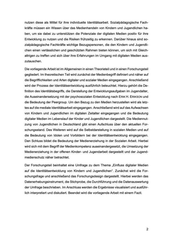 Bachelorarbeit Digitale Medien Einleitung 2