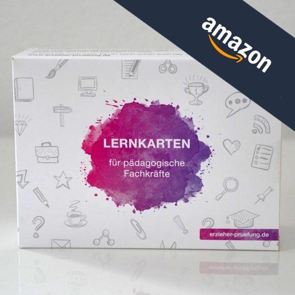Lernkarten für die Erzieher Prüfung Ausbildung via Amazon